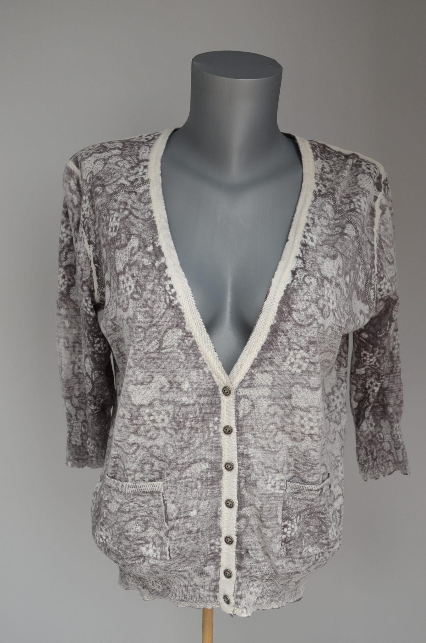 Cardigan Lace Print - Clothes Stocklots